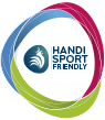 Logotype de la ligue handisport francophone Friendly